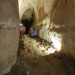 Alte Weghöhle kurz vor der Plattenhöhle