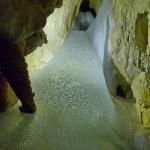 Eis im Eingangsbereich